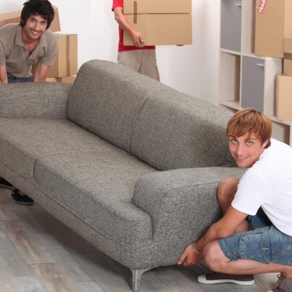 Packa möbler