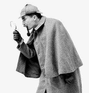 Sherlock utför besiktning av bostad