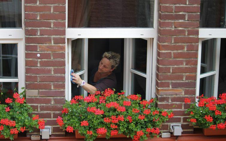Putsa fönster
