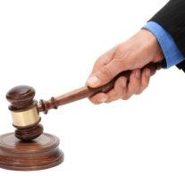Domares hammare, budgivning regler och lagar