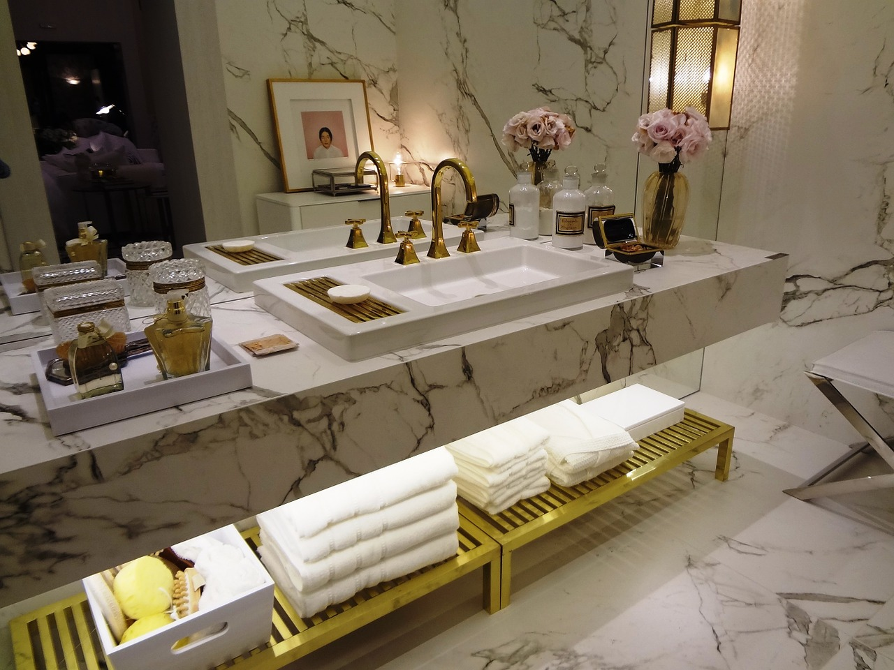 möblera badrum