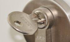 Låscylinder med nyckel