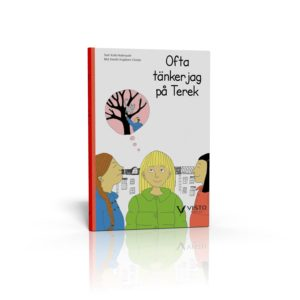 """Bokbild flytta utomlands med barn, """"Ibland tänker jag på Tarek"""""""