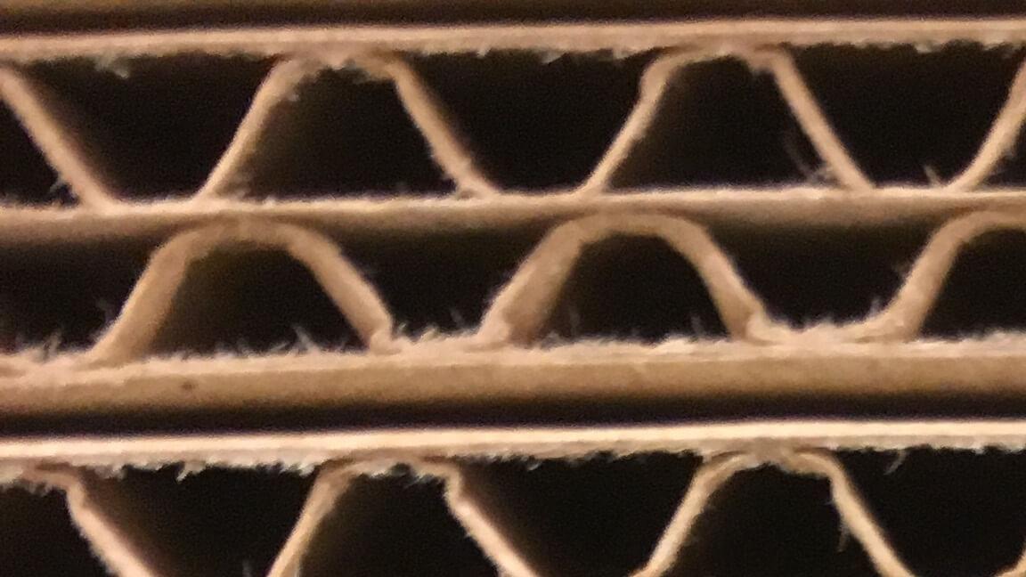 3 lager flyttkartong test