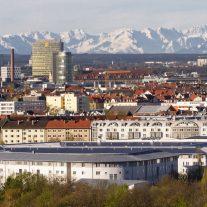 Flytta till München intill alperna